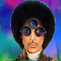 SO, PRINCE'S X'S FACE HAS BANANA ON IT?